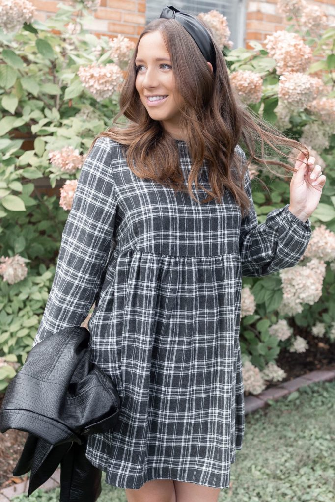 Three Ways to Style One Versatile Fall Dress Perfect for a Fall Capsule Wardrobe