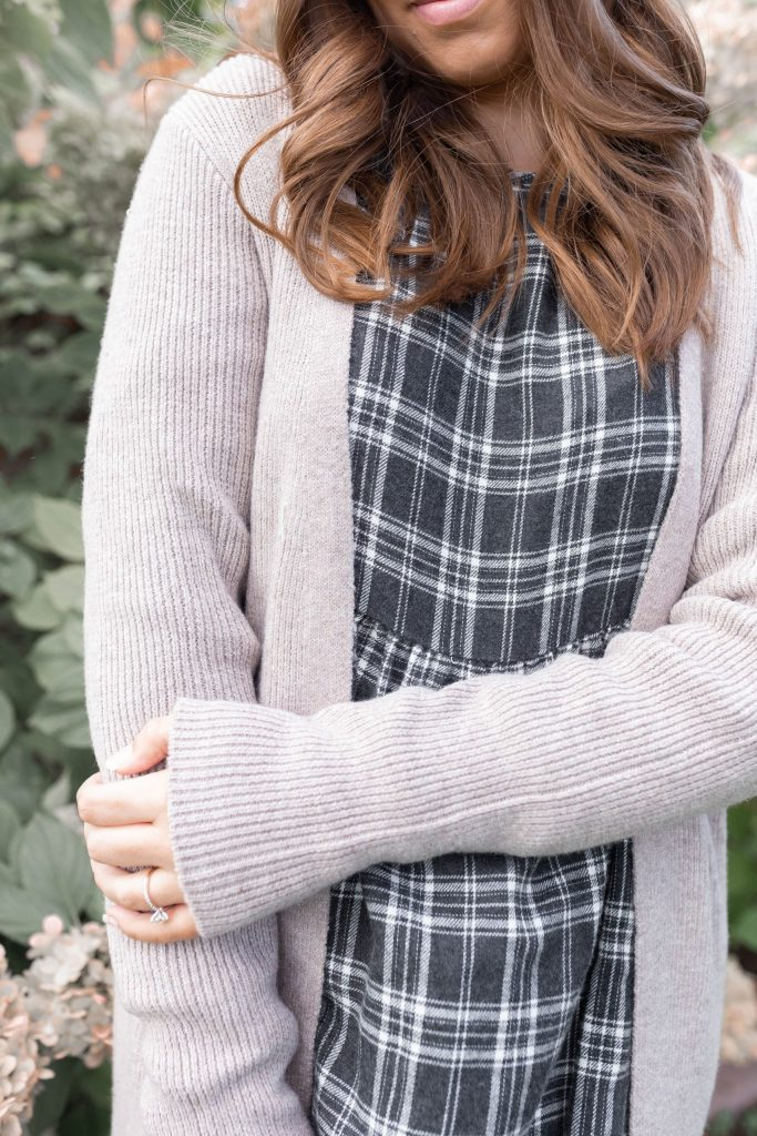 Ways to Style Fall Dresses: Versatile Duster Cardigan