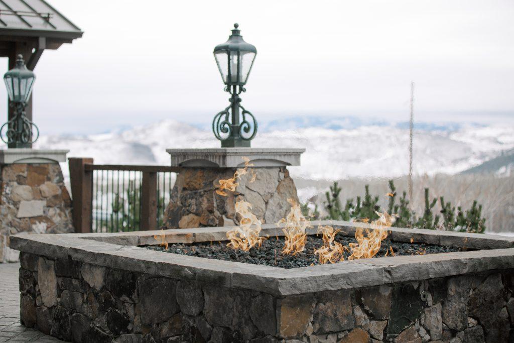 Fireside Apres Ski Cocktails in Park City Utah