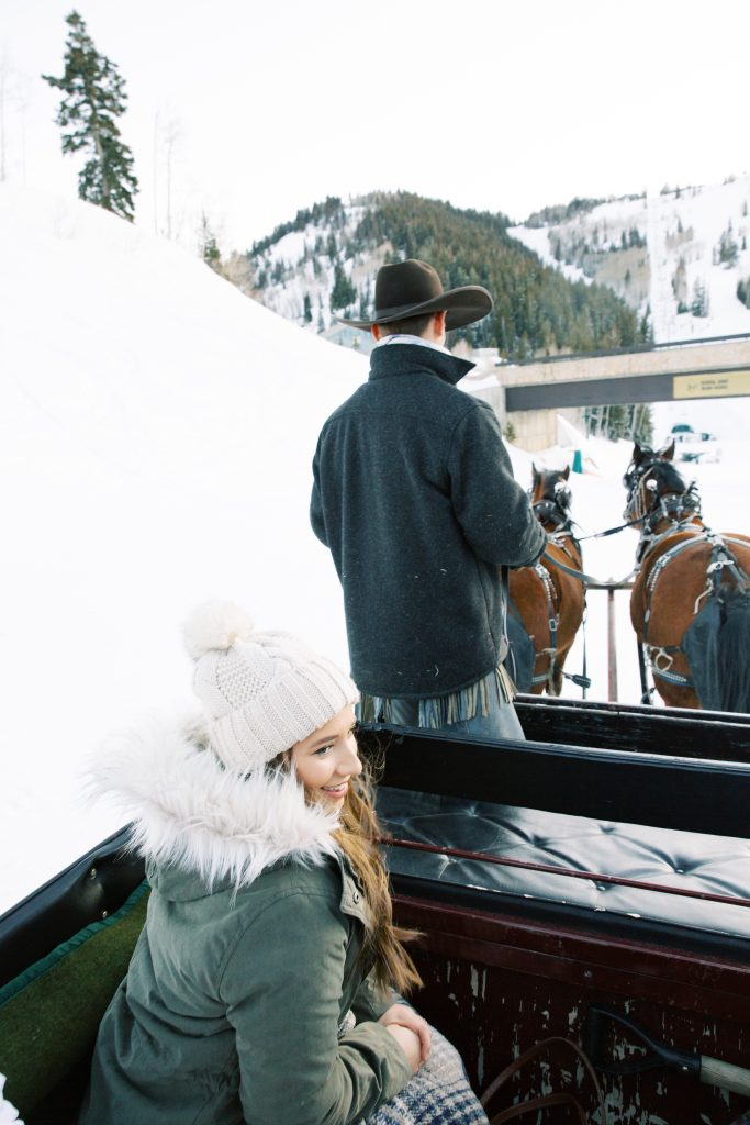 What to Do in Park City, Utah: A Sleigh Ride in the Mountains