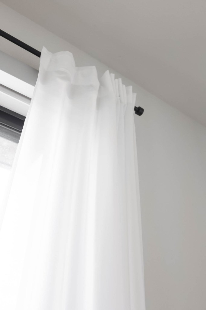 Affordable Linen White Drapes