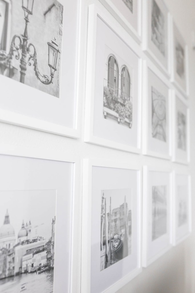White Square Photo Frame Gallery