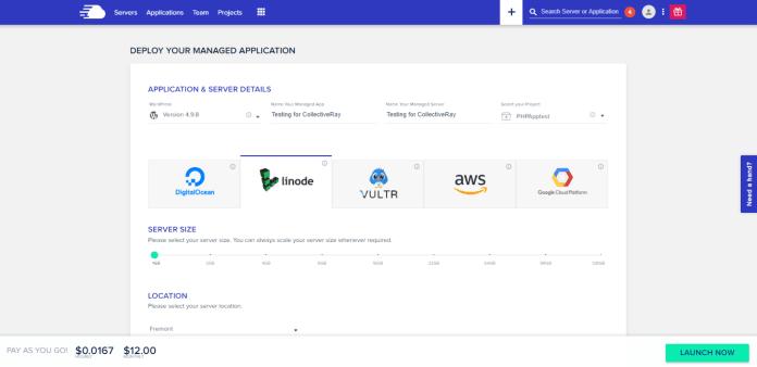 Distribuisci servizi cloud per applicazioni gestite