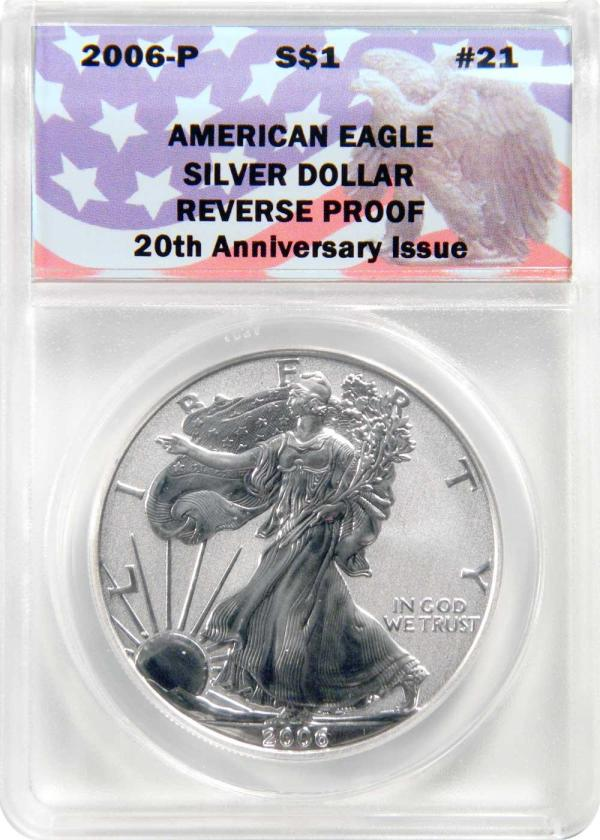 Collectons Keepers #21 2006- Reverse Proof American