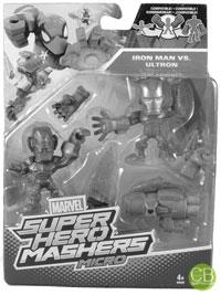 MARVEL Super Hero Mashers Micro - Iron Man vs. Ultron