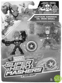 MARVEL Super Hero Mashers Micro - Captain America vs. Iron Skull