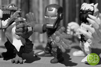 MARVEL Super Hero Mashers Micro - Iron Patriot