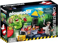 Playmobil - Slimer mit Hot Dog Stand