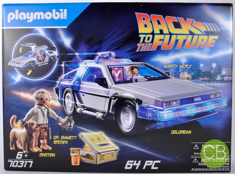playmobil 70317 Btf DeLorean