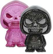 Pink & Black Glitter Skeletor 2-Pack