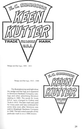 Vintage Keen Kutter by Simmons Hdwe Collector ID Guide