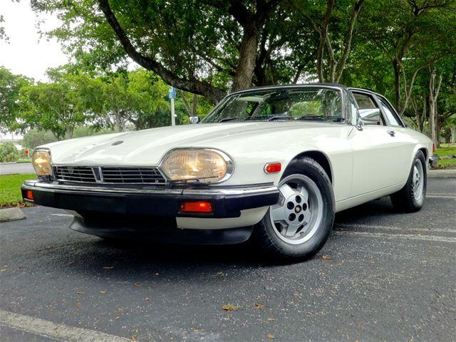1986 Jaguar XJSC For Sale Delray Beach Florida