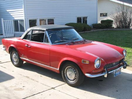 Up for sale and items done; 1970 Fiat 124 Spider For Sale Byron Minnesota