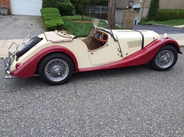 1965 Morgan Plus 4 Roadster For Sale Iowa