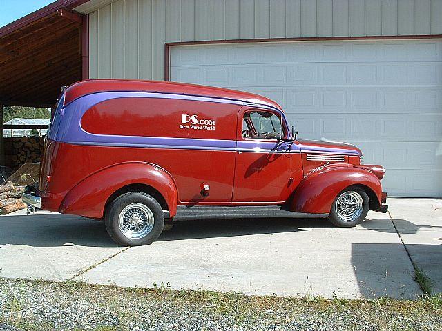1941 Chevy Panel Truck