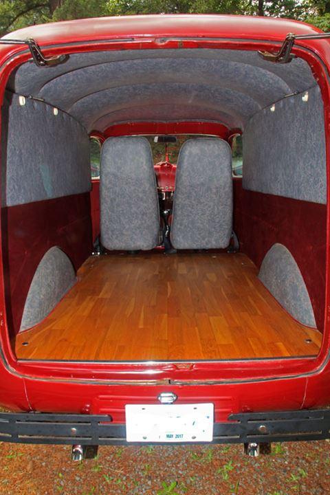 1947 International KB1 Panel Truck For Sale Whistler