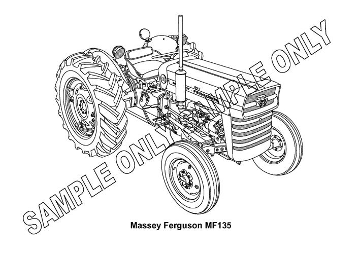 Massey Ferguson 135 Transmission Parts Diagram Sketch