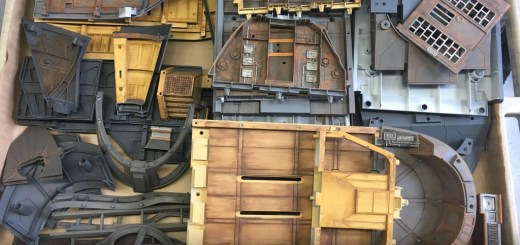 Hasbro reveals 3-22 of the Jabba's Sail Barge - parts
