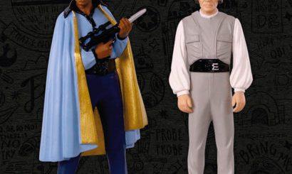 Lando Calrissian and Lobot Hallmark Keepsake ornament Comic Con exclusive