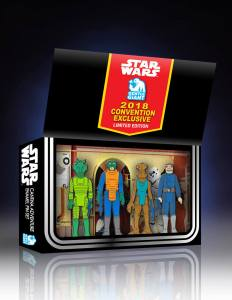 Gentle Giant Cantina Adventure four pack pin set