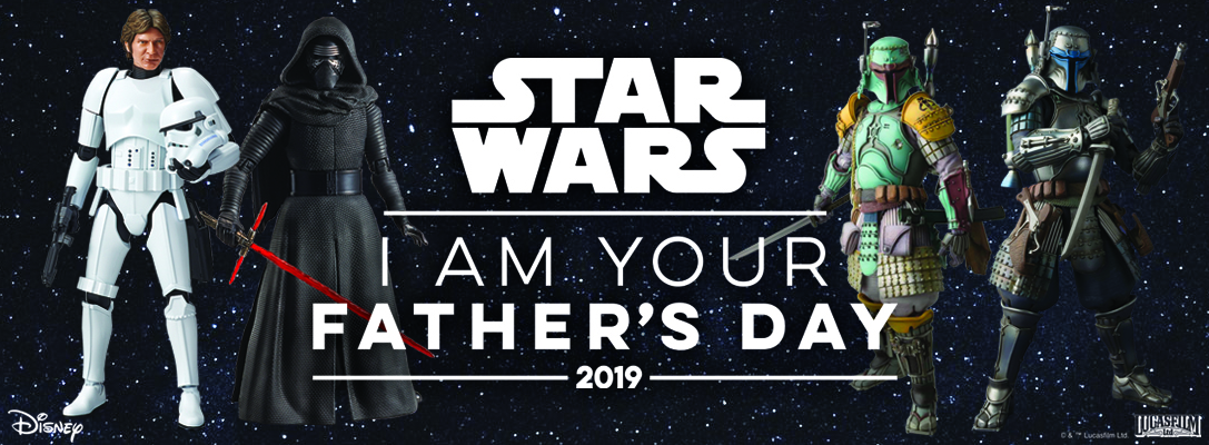 Bluefin's Bandai Star Wars Father's Day sales – Collectors Cantina com