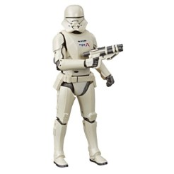 STAR WARS THE BLACK SERIES 6-INCH FIRST ORDER JET TROOPER CARBONIZED COLLECTION Figure - oop