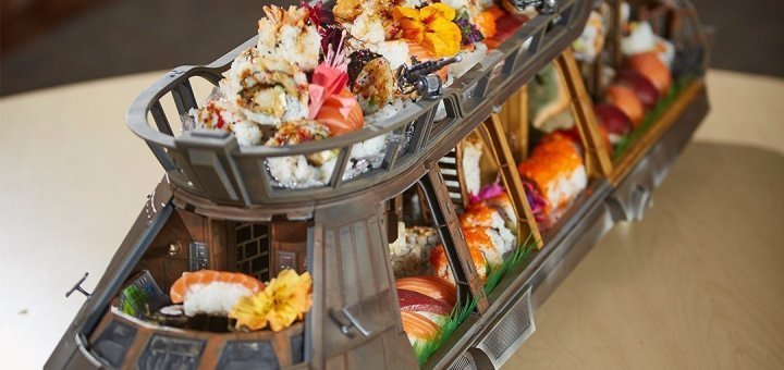 The Sushi Barge