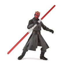 STAR WARS GALAXY OF ADVENTURES 5-INCH DARTH MAUL Figure oop (1)