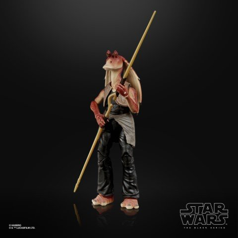 Star Wars The Black Series  Deluxe Jar Jar Binks  Pre Order Jan 2021