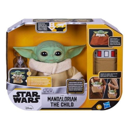 STAR WARS THE CHILD ANIMATRONIC EDITION WITH 3-IN-1 CARRIER - in pck (1)