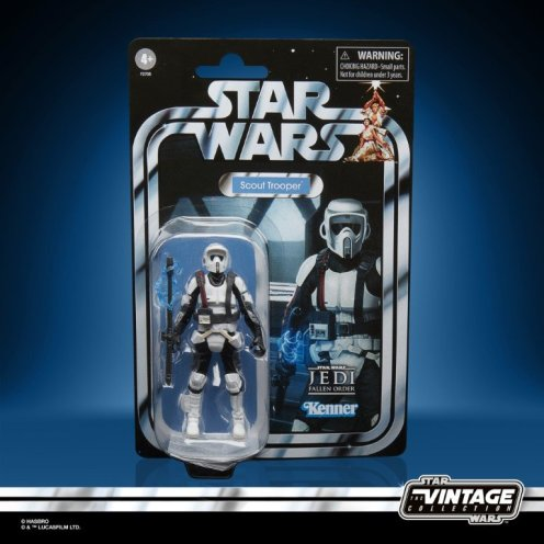 STAR WARS THE VINTAGE COLLECTION GAMING GREATS 3.75-INCH SHOCK SCOUT TROOPER Figure (1)