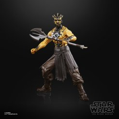 STAR WARS THE BLACK SERIES GAMING GREATS 6-INCH NIGHTBROTHER WARRIOR Figure - oop (1)