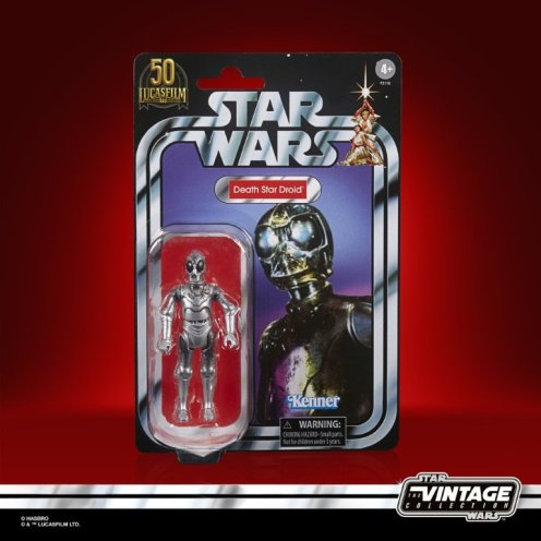 STAR WARS THE VINTAGE COLLECTION LUCASFILM FIRST 50 YEARS 3.75-INCH DEATH STAR DROID inpk