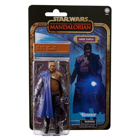 STAR WARS THE BLACK SERIES CREDIT COLLECTION 6-INCH GREEF KARGA Figure_in pck 2
