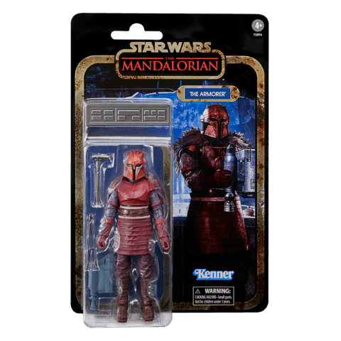STAR WARS THE BLACK SERIES CREDIT COLLECTION 6-INCH THE ARMORER Figure_in pck 2