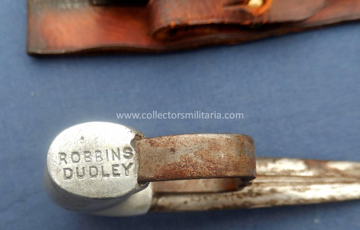 An Original Robbins  Dudley Push Dagger Combat Knife