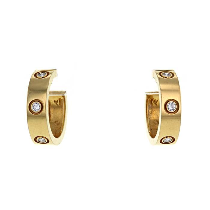 Cartier Love Earring 325687