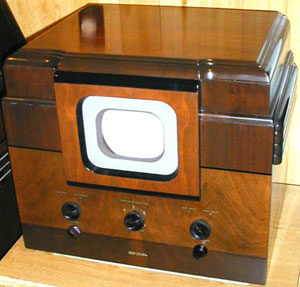 An early television from the late 1930s.