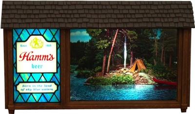Hamms SceneoRama Beer Sign Bliss  Collectors Weekly