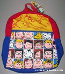 Character faces in squares Backpack