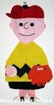 Baseball Charlie Brown Pajama Bag