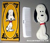 Snoopy Hairbrush and Comb
