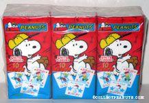 Snoopy & Charlie Brown Baseball Tissue Packs