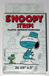 Doctor Snoopy & Woodstock Snoopy Strips Plastic Adhesive Bandages