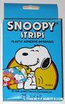 Snoopy Laughing holding Bandage Snoopy Strips Plastic Adhesive Bandages