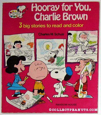 Peanuts General Coloring Books Collectpeanuts Com