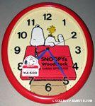 Peanuts & Snoopy Citizen Clocks