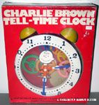 Charlie Brown Tell-Time Clock