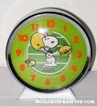 Snoopy & Woodstock playing football Alarm Clock
