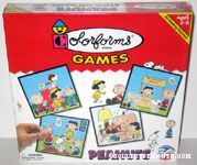 Peanuts Colorforms Games